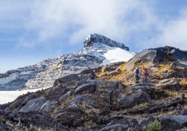 Aventura en las nieves colombianas