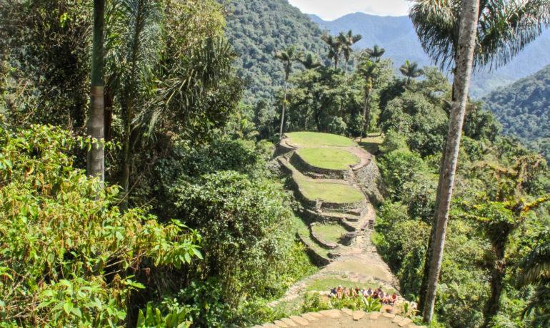 La Ciudad Perdida entre las montañas de Colombia